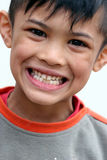 Smile. Young asian boy smiling Stock Photos