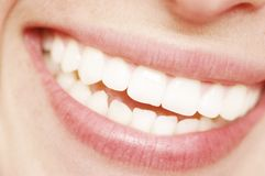 Smile. Photo of a happy smile Royalty Free Stock Images