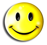 Smile. Typical image of smile figure Royalty Free Stock Photography