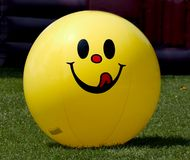 Smile air balloon. Symbol Stock Photography