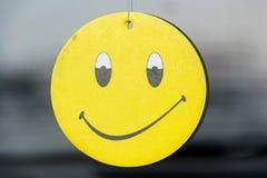 Smile. Air freshener for car smile Royalty Free Stock Photo