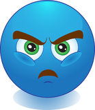 Smile. Anger. Resentment. Rage. Stock Image - human emotion anger Stock Images