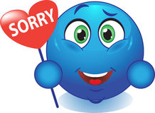 Smile apologizes Royalty Free Stock Photo
