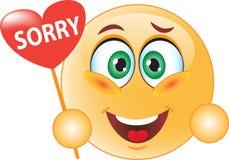Smile apologizes Stock Photo