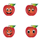 Smile apples Stock Photo