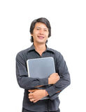 Smile asian business man Stock Photo