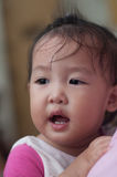 Smile Asian Girl toddler Royalty Free Stock Photos