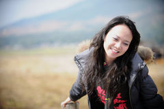 Smile asian woman Royalty Free Stock Photos