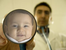 Smile At The Doctor! Royalty Free Stock Photos