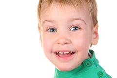 Smile baby face Stock Photos