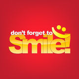 Smile background Stock Photo