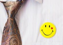 Smile Badge Stock Image