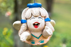 Smile baked clay dolls Royalty Free Stock Photography