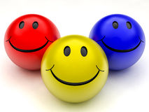 Smile ball Royalty Free Stock Image