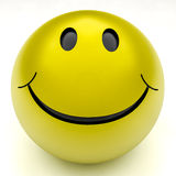 Smile ball Stock Photography