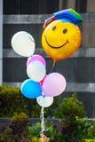 Smile Balloons Stock Photo