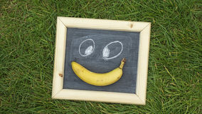 Smile banana Royalty Free Stock Image