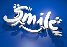 Smile banner Stock Photography