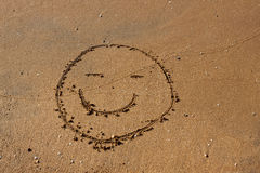 Smile on the beach. Stock Images