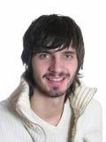 Smile beardman stock photos