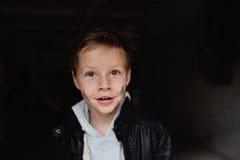 Smile beautiful boy Stock Photo