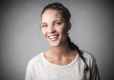 A smile Stock Images