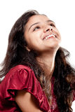 Smile of beautiful Indian girl Royalty Free Stock Photo