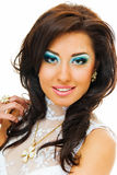 Smile from beauty girl Stock Images