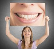 Smile billboard Royalty Free Stock Photos