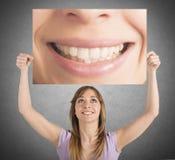 Smile billboard Royalty Free Stock Photos