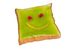 Smile bread Royalty Free Stock Images