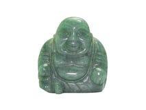 Smile buddha isolated on white Stock Photo