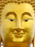 Smile Buddha's face Stock Images
