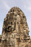 Smile Buddha. Buddha is smiling in Cambodia Royalty Free Stock Photography