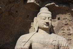 Smile buddha statue Stock Image