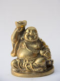 Smile buddha statue Royalty Free Stock Images