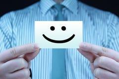 Smile - business card Stock Photos