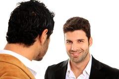 Smile business man Stock Photo