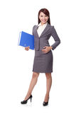 Smile business woman Stock Photos