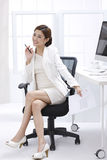 Smile businesswoman Royalty Free Stock Image
