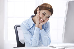 Smile businesswoman Royalty Free Stock Photos
