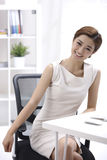 Smile businesswoman Stock Photo