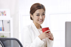 Smile businesswoman Royalty Free Stock Images