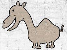 Smile camel. Creative design of Smile camel Stock Photos