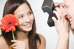 Smile for camera Royalty Free Stock Photo