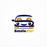 Smile car Stock Images