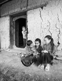 Smile Children from ethnic minorities Stock Image