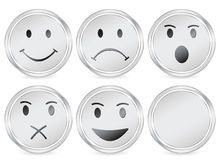 Smile circle icon Stock Photography