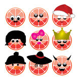 Smile citrus Royalty Free Stock Images