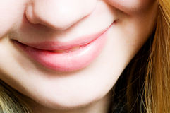 Smile. close-up mouth Royalty Free Stock Image